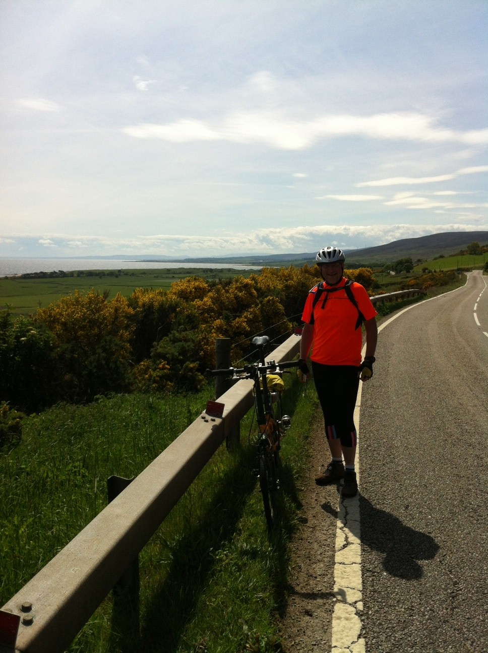 On the road to Helmsdale
