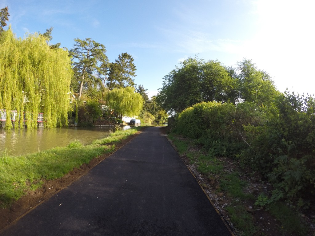 The BEST tow path ever.