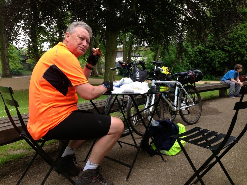 Lunch in Avenham park Preston