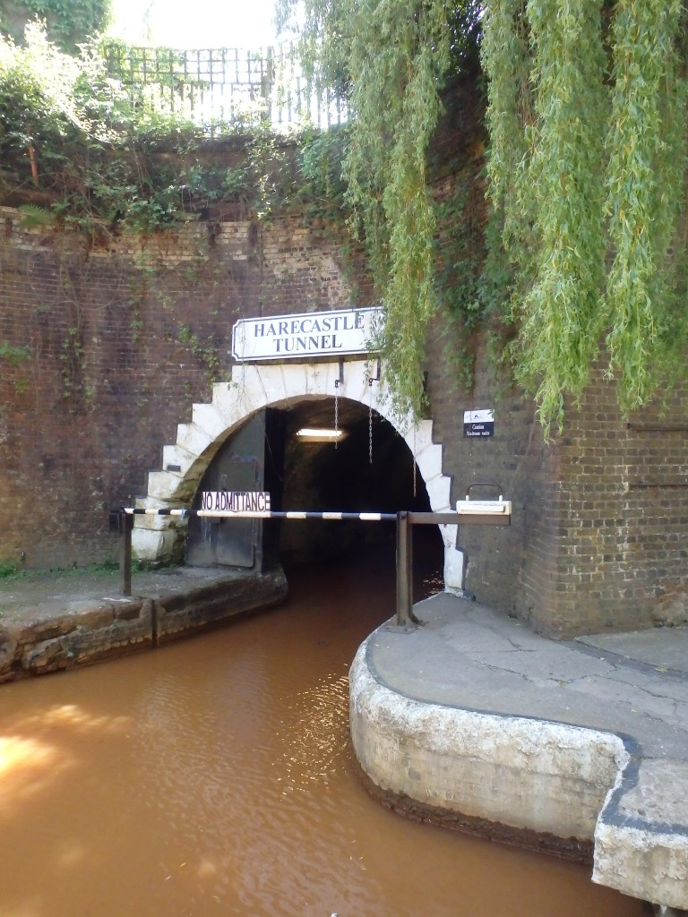 The far end of the Harecastle tunnel