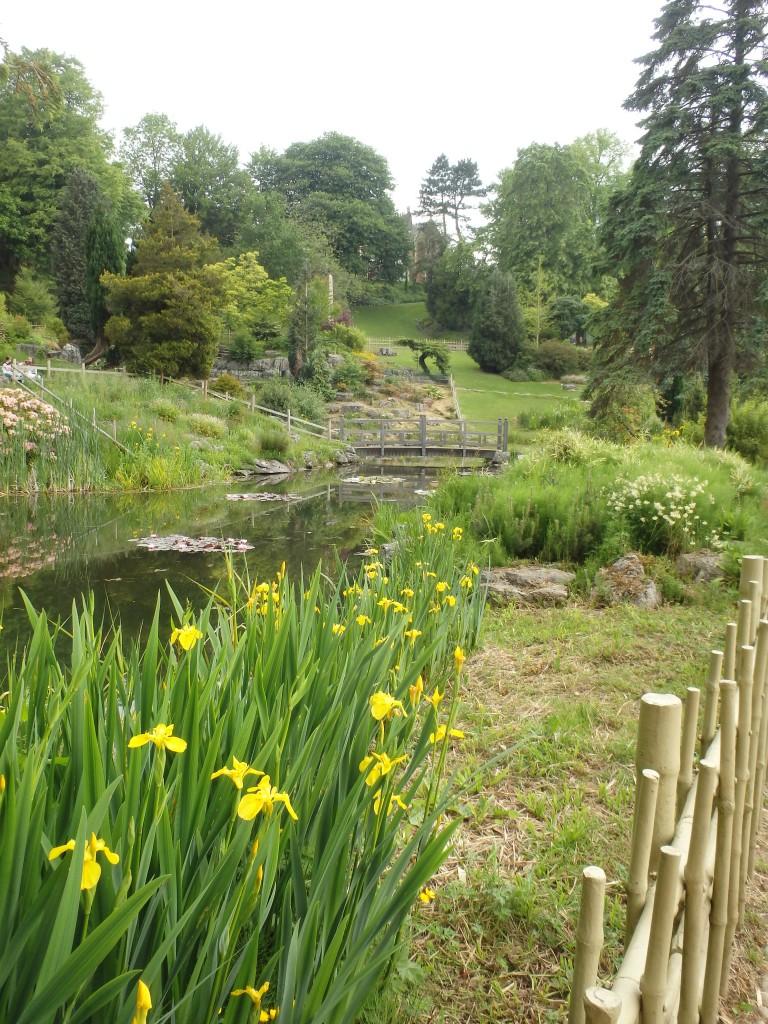 Japanese garden in Preston?