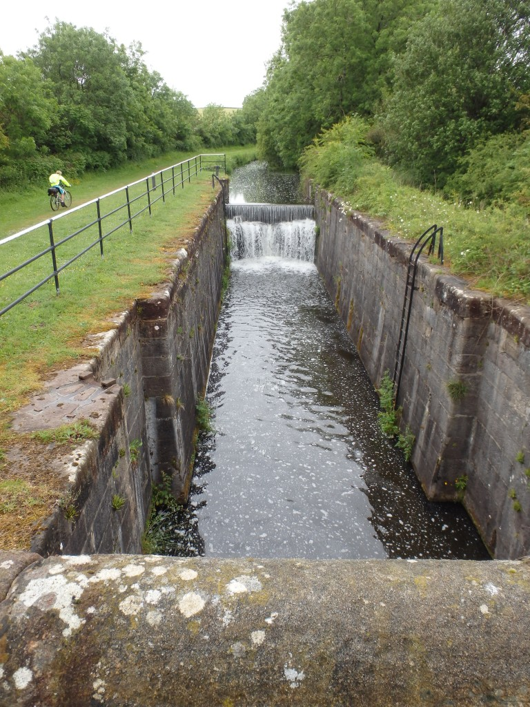 Looking up the lock rise on the isolated Northern Reaches
