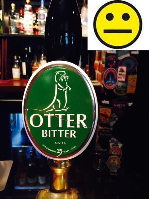 Otter Bitter:3.8% ABV: