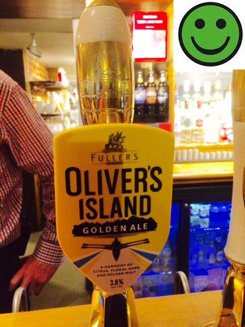 Oliver's Island: 3.9%ABV: Fullers Brewery: The Mill Elstead