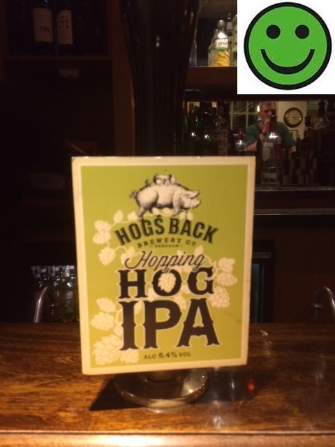 Hog IPA : 5.4% ABV: Hogs Back Brewery